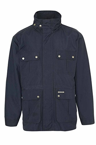 Champion Herren Pevensey Country Estate, Kapuze, wasserdicht Blau - Navy