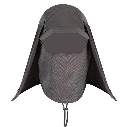 Chapeau de soleil en plein air/Chapeau de soleil UV/Velo electrique PAC/Chapeau de soleil/Chapeau du pêcheur B