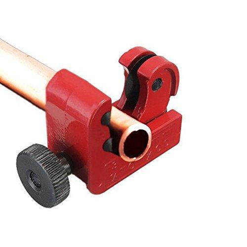 Mini-Schneidwerkzeug, für 3-22 mm Rohrabschneider Free Size rot