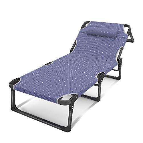 Betten Einfache Multi-Winkeleinstellung Klappbett Home Mittagspause Nickerchen Büro Einfache Erholung Unterstützung Rollsnownow