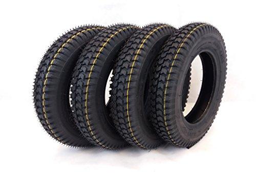 4x 300x 8schwarz Blockprofil Mobilität Scooter Reifen 3.00–8Elektrorollstuhl & Cordoba (Mobilität Reifen)