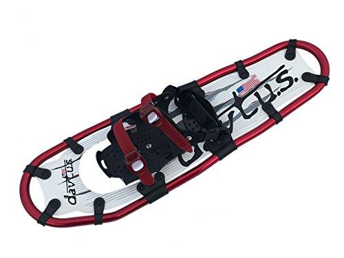 davtus Alu Schneeschuhe zum Bergwandern bis Gr 48 + Rucksack Snowshoes