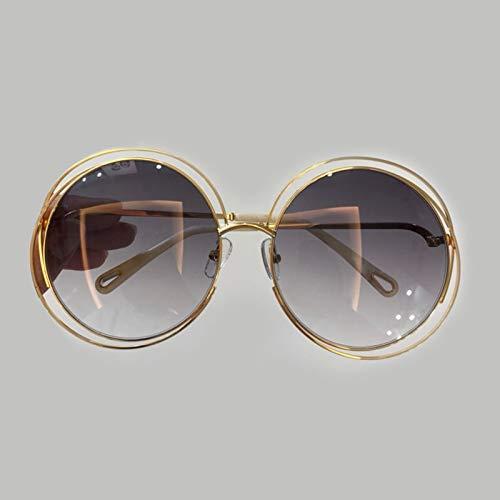 LKVNHP Hohe qualität Vintage Frauen Vintage runde Sonnenbrille markendesigner oculos de solFeminino Mode SonnenbrillemitPerle no4 Sonnenbrille