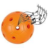Glockenball, Hörball, Motorikball, Klangball für Sehbehinderte, ø 15 cm