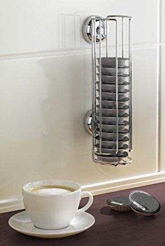 Wenko turboloc Soporte para cápsulas para Tassimo Cápsulas de Café-sin agujeros-Dispensador de cápsulas-Soporte para cápsulas-Cápsulas de Café