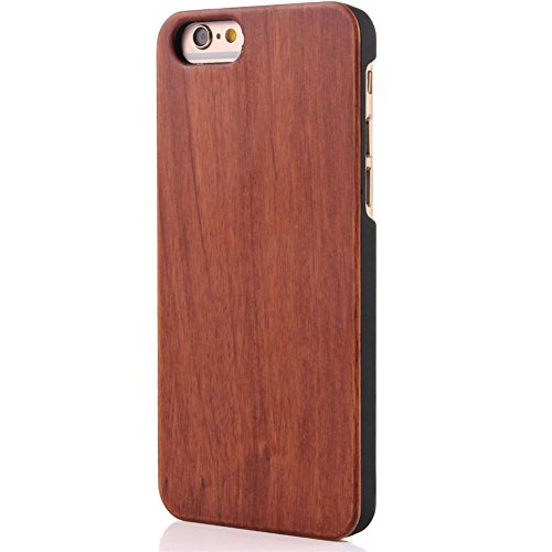 iphone SE Cover, G-i-Mall Ultra Sottile Vero legno Hard Back Wood Custodie Protettiva PC Bumper Cover Caso Per Apple iphone 5 5S SE Smartphone Shell - Wooden Cover#6 Wood Cover #9