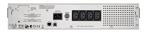 APC Smart-UPS SMC - Unterbrechungsfreie Stromversorgung 1.000VA Rackmodell 2U - SMC1000I-2U - Line Interactive, AVR, 8 Ausgänge IEC-C13, Shutdown Software -