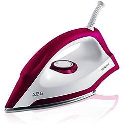 Plancha seca marca AEG LB. Potencia 1300W. Opción voltajes 220-240 Cable de 1,9 m