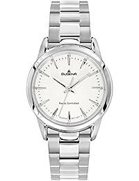 Dugena Damen-Armbanduhr Momentum XS - Funkuhren Analog Quarz Edelstahl 4460641