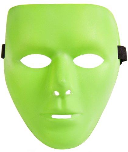 Gruselige Grüne Glow Maske! -