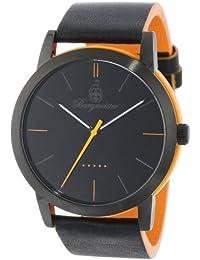 Burgmeister Armbanduhr für Herren mit Analog-Anzeige, Quarz-Uhr und Lederarmband - Wasserdichte Herrenuhr mit zeitlosem, schickem Design - klassische Uhr für Männer - BM523-623B-1  Ibiza
