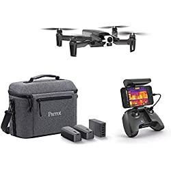 Parrot - Drone Thermique 4K - Anafi Thermal - 2 Caméras Haute Précision - Caméra Thermique -10°C à +400°C + Caméra 4K HDR - Le Drone Thermique Ultra-Compact pour Tous Les Professionnels