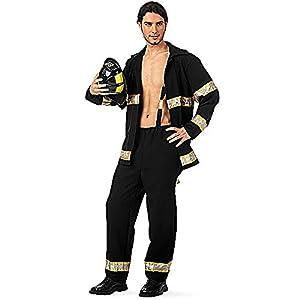 Limit Sport - Disfraz de bombero para adultos, talla XL (MA589)