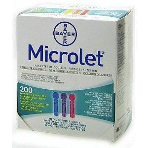 MICROLET Lancets 200pz (Lanzette Microlet)