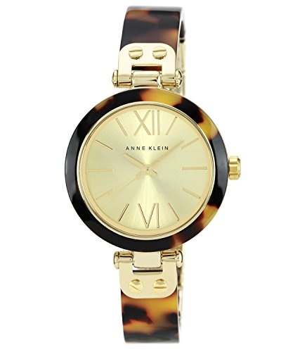 anne-klein-womens-the-belle-quartz-watch-with-gold-dial-analogue-display-and-brown-plastic-bangle-10