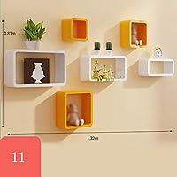Z&HAO Cube Shelves Conjunto de estantes de pared flotantes, ideal para libros o colecciones, agregue diseño y sabor a su habitación