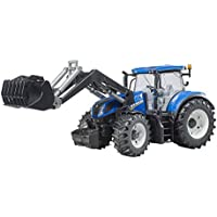 Bruder 3121New Holland t7.315con Carga Frontal