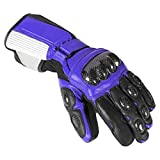 Newfacelook Herren Leder Motorrad Handschuhe...