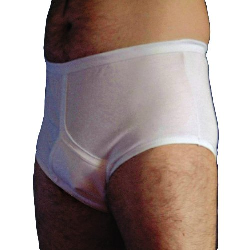 Männliche Harninkontinenz Y-vordere Unterhosen White