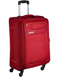 American Tourister Z-strike Polyester 56 cms Ruby Red Softsided Cabin Luggage (AMT Z-STRIKE SP56CM RUBY RED)