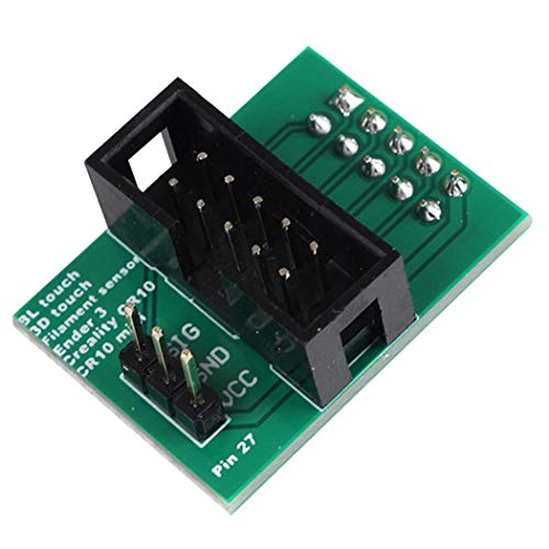 JUSTDOLIFE Scheda Stampante 3D Creality CR-10 / Ender 3 Pin 27 Scheda Adattatore per Touch