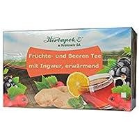 Erwärmender Tee gegen Erkältung mit u.a. Ingwer, Hagebutte, Schwarzer Johannisbeere, reich an natürlichem Vitamin... preisvergleich bei billige-tabletten.eu