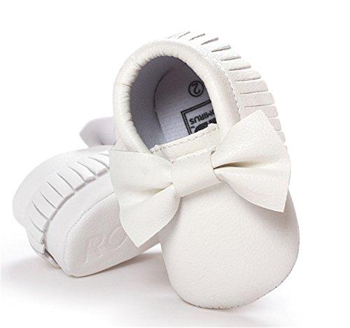 happylove , Bride de cheville bébé garçon mixte bébé garçon bébé fille fille Blanc