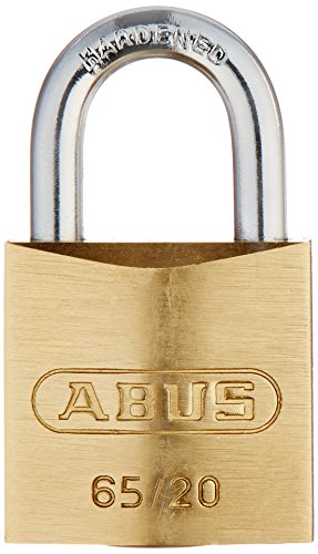 Preisvergleich Produktbild ABUS 65 / 20 C KD .75 Inch All Weather Solid Brass Keyed Different Padlock with Hardened Steel Shackle by ABUS