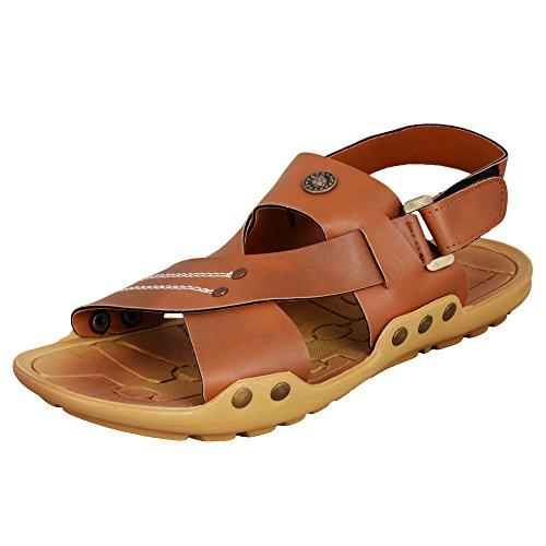 Rushaimi-Selfie-1-Tan-Sandal-For-Men