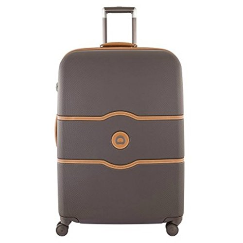 delsey-luggage-chatelet-hard-28-inch-4-wheel-spinner-chocolate