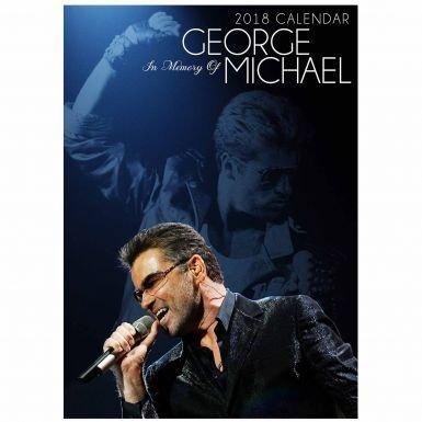 George Michael Musique Legend A32018Calendrier (en couleur)