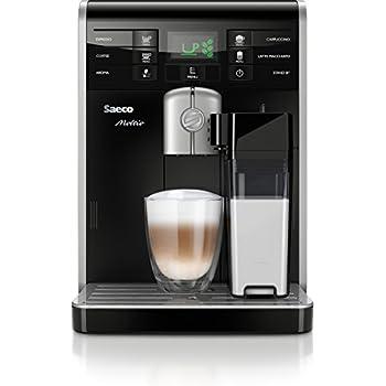 Saeco HD8769/01 Moltio Kaffeevollautomat, integrierte Milchkaraffe, schwarz