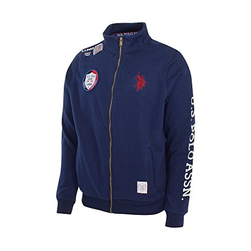 U.S. Polo ASSN Sweatjacke Full Zip Marine - L