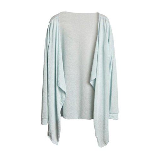 Clode® Femmes Chiffon Loose Shawl Kimono Cardigan Top Cover Up Shirt Blouse L