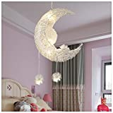 Y.H_Super Lustre Star Moon Chambre Lumineuse Lumineuse Personnalité Créative...