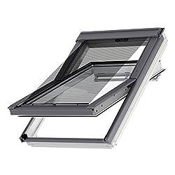 VELUX Original Hitzeschutz-Markise außen Dachfenster, P06, P08, P10, PK06, PK08, PK10, 408, 406, Uni Schwarz