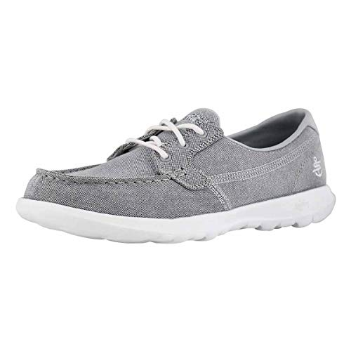Skechers Women's GO Walk Lite Boat Shoe - Oxford Lite Boot