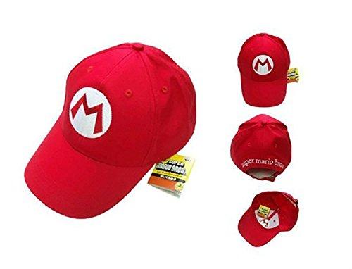Topvance Super Mario Bros Mario Rot Freizeit Baseball Kappe Dominion Baseball
