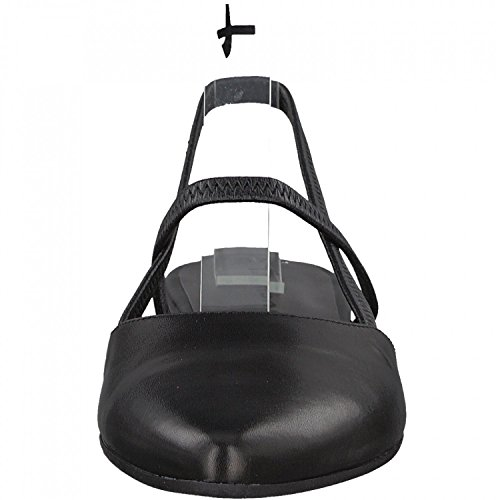 Tamaris 29408, Sandales Bride Arrière Femme Noir (Black Leather)
