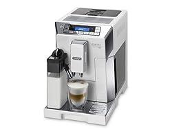 DeLonghi ECAM45760W 1450-Watt Coffee Maker (Silver)