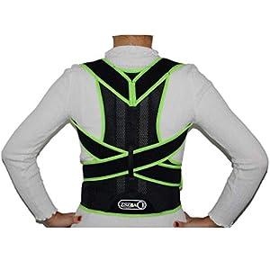 ZSZBACE Körperhaltung Korrektor für Frauen und Männer – Einstellbare Rückenhaltung Korrektor Schlüsselbein Unterstützung Bracket – Obere Rückenorthese Körperhaltung Korrektor Schulterstütze