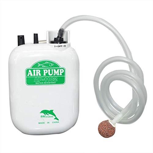 Phrat Angeln Sauerstoffpumpe tragbare wasserdichte große Power-Batterie Aquarium ideal für Outdoor-Angeln Fisch-Box