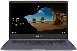 "Asus Vivobook S14 S406UA-BM033T Ultrabook 14"" Full HD Gris Métal (Intel Core i7, 8 Go de RAM, SSD 256 Go, Intel HD Graphics 620, Windows 10) Clavier Français AZERTY"