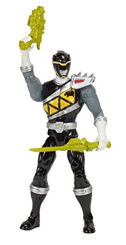 Power Rangers Dino Charge 12.5cm Schwarzer Ranger Figur [UK (Requisiten Power Rangers)