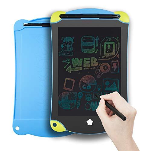 YDI Bunt LCD Schreibtafel 8,5 Zoll Elektronisch Mehrfarbig Schreiben von Doodle Board für Kinder