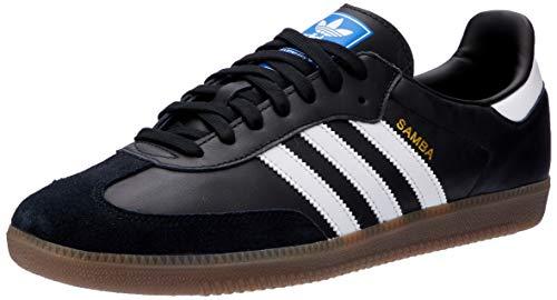 adidas Herren Samba Og Gymnastikschuhe, Schwarz (Negbás/Ftwbla/Gum5 000), 38 2/3 EU