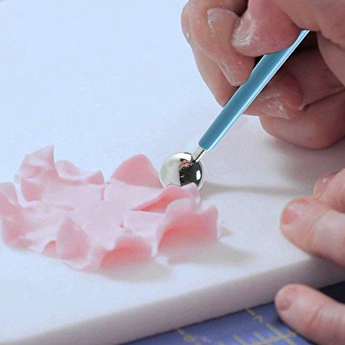 comprare on line Set di strumenti di modellazione attrezzi fimo Pulluo 14 pezzi kit in argilla scultura in ceramica prezzo