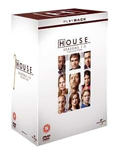 House - Season 1-5 [DVD]