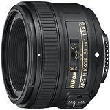 Nikon Obiettivo Nikkor AF-S 50 mm f/1.8G, Nero [Versione EU]