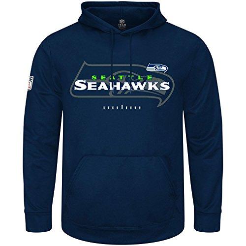 Majestic GREAT VALUE Hoody - Seattle Seahawks navy - XL